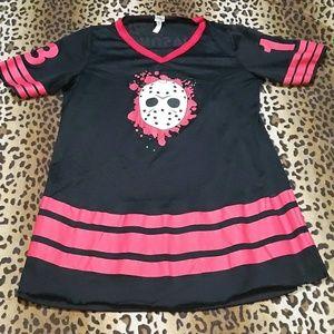 Jason Voorhees jersey dress